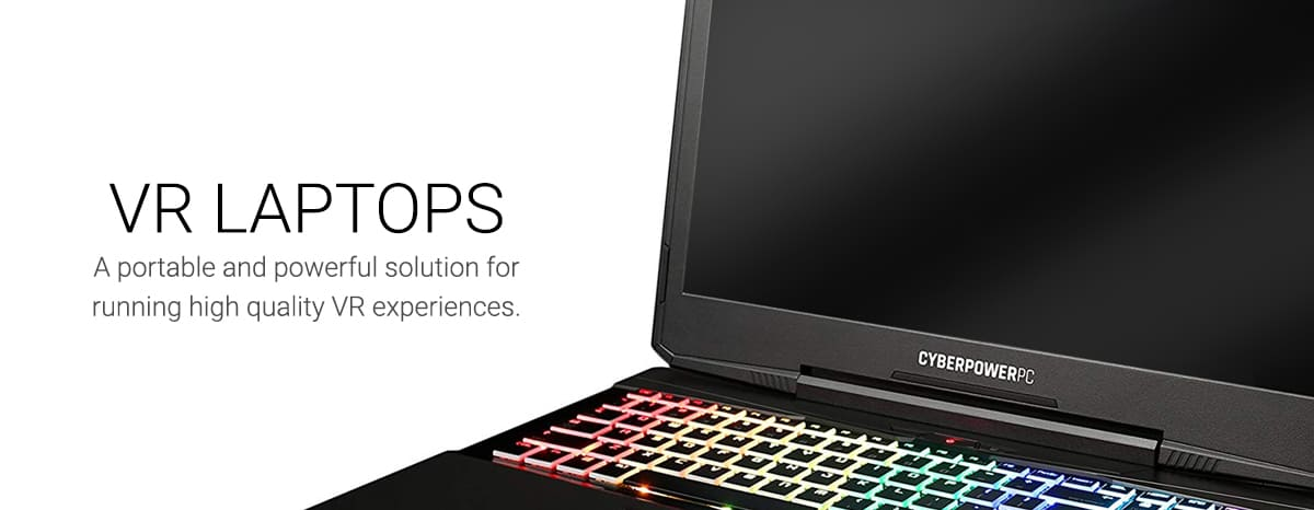 Virtual Reality Accessory Hire - VR Laptop
